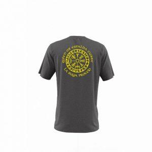 Camiseta Hombre Valknut Gris Antracita
