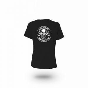 Camiseta Mujer Sons Of Odin Negra