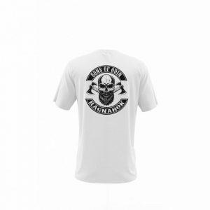 Camiseta Hombre Sons Of Odin Blanca