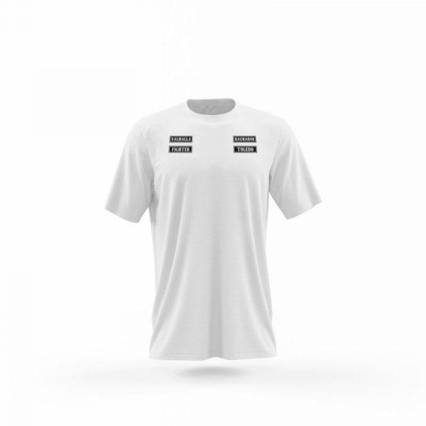 camiseta sons of ragnarok blanca frente