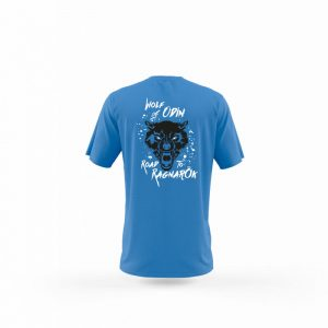 Camiseta Hombre Wolf Of Odin Azul