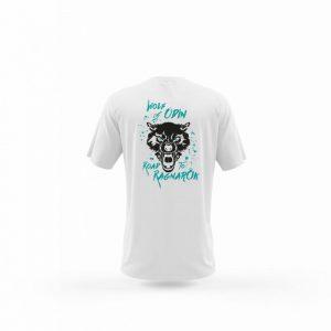 Camiseta Hombre Wolf Of Odin Blanca