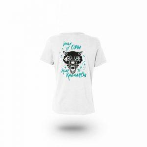 Camiseta Mujer Wolf Of Odin Blanca