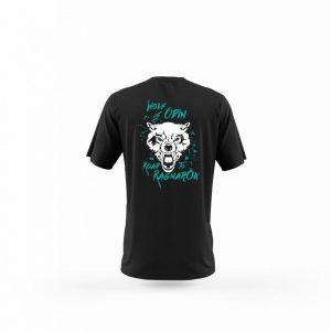 Camiseta Hombre Wolf Of Odin Negra