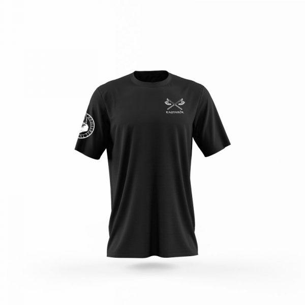 camiseta no mercy negra frente