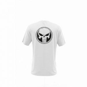 Camiseta Hombre Juramento Viking Blanca