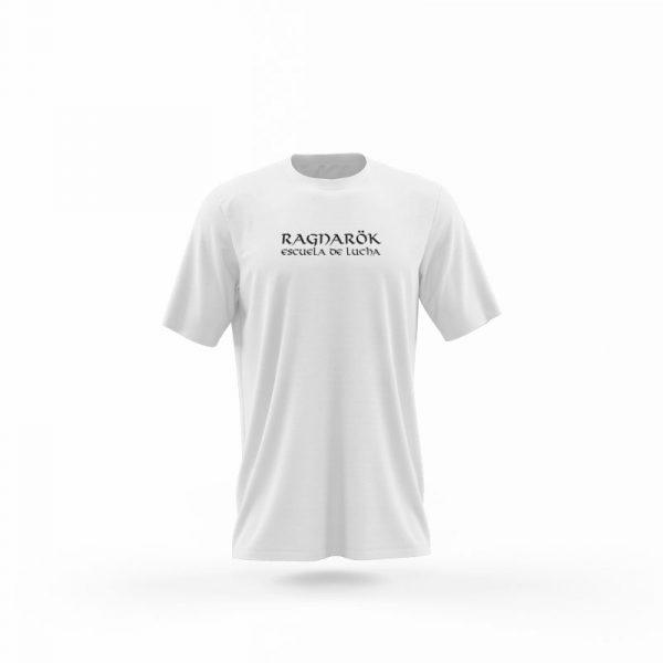 Camiseta Hombre Juramento Viking Blanca frente
