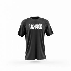 Camiseta hombre Guantillas negra frente